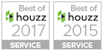 Best of Houzz 2017 and 2015