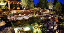 outdoor lighting landscaper