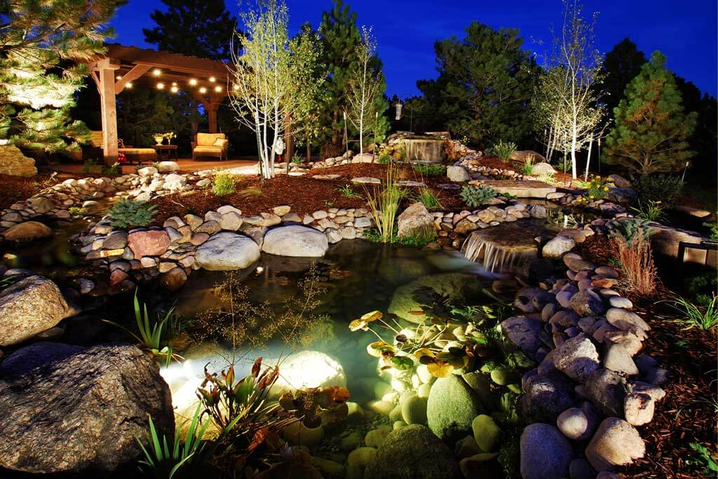 outdoor lighting abc landscaping
